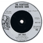 THE RIGHTEOUS BROTHERS BAND RAT RACE uk PHIL SPECTOR